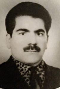 غلام جمشیدی خواننده ای که نخستین باردایه دایه باصدای اوبرروی ریل صدا دردهه سی خورشیدی ضبط شد