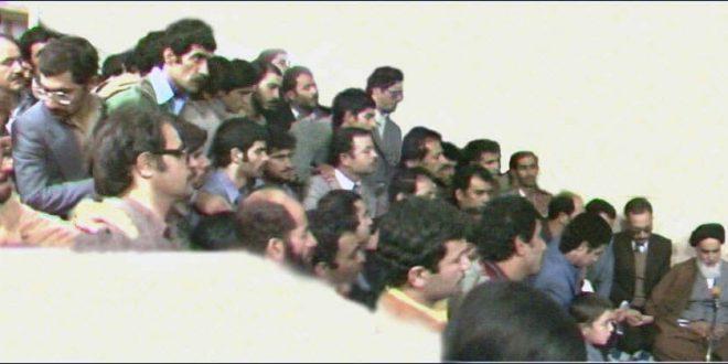 دیدار جوانان ومعلمان عضو انجمن اسلامی با حضرت امام خمینی
